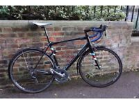 Planet X RT-58 V2 Alloy road bike / bicycle - fork and frame less than 6 months old