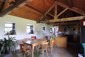 Fully furnished room to rent in converted barn