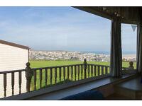 15-22 July--Fabulous Caravan with Sea Views from every Room! Sleeps 6--£357