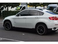 BMW X6 3.0 40d xDrive 5dr Alpine White Top Spec, DVD Screens In Headrest