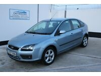 Ford Focus 1.6 Zetec Climate 5dr - £1,950 p/x welcome - Full MOT - Part service - low mileage