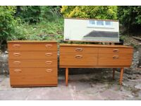 Schreiber Dressing Table & Chest of Drawers