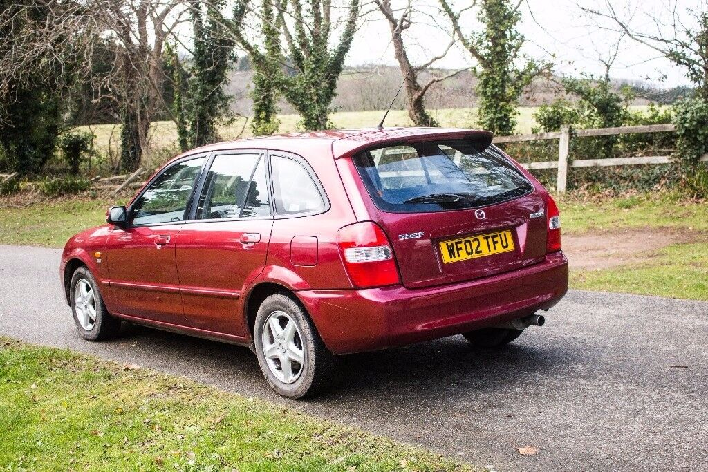 mazda 323 passion red in truro cornwall gumtree. Black Bedroom Furniture Sets. Home Design Ideas