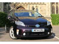 "2014 ""14"" Toyota Prius Hybrid T Spirit UK MODEL Fully Loaded Full Toyota History Never used as Cab"