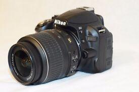 Nikon D3100 + extra lens