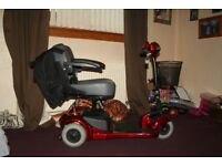 three wheel folding mobility scooter 4volt like new