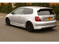 2002 HONDA CIVIC TYPE-R EP3 RACE TRACK DAY READY WITH LONG MOT LOGBOOK FSH