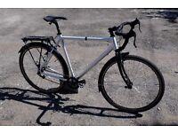 Custom aluminium commuter (60cm) - needs repair