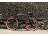 Christmas sale!!! Steel Frame Single speed road bike track bike fixed gear racing fixie bicycle a4