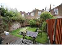 TWO BED GARDEN FLAT -CENTRAL LOCATION-MINS TO TUBE