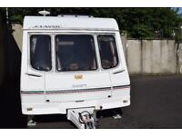 Swift Classic Danette 2000 4/5 berth caravan with many extras including full size awning