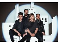 Front Row seats for Bastille at Sheffield City Hall on 14th April 2018