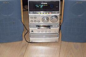 AIWA MINI DISC/CD/AUX IN/RADIO 80W