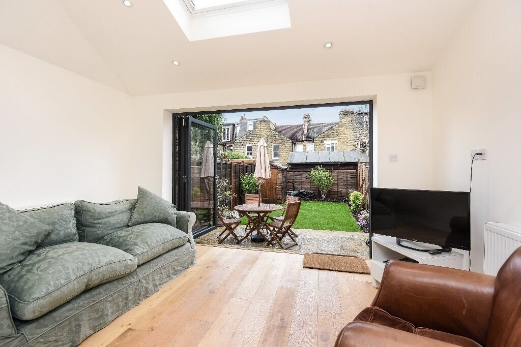 Trentham Street, SW18 - Exceptional four double bedroom mid terrace house with garden - £2700pcm