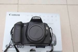 As New Canon EOS 60D mint condition, 6000 shutter count, full box Haymarket Inner Sydney Preview