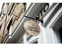 Experienced Waiter/waitress - Spitalfields, Liverpool St E1