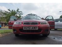Rover 200 1.4L 16v 1998 LOW MILEAGE