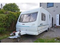 Lunar Clubman 475 ck (2001), with motor mover and awning