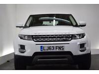 LAND ROVER RANGE ROVER EVOQUE 2.2 ED4 PURE [PANORAMIC ROOF] 5d 150 BHP (white) 2013