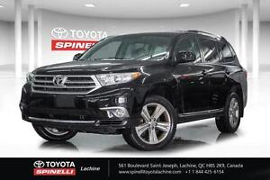 2013 Toyota Highlander V6 CUIR TOIT + TRACTION INTEGRALE DON'T P