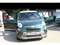 FIAT 500L 1.3 MULTIJET TREKKING 85 MANUAL 2014 ,LOW PRICE & milage 21,000