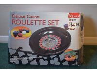 Complete roulette set-played once