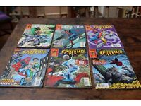 A collection of The Astonishing Spiderman comics -Marvel Collector's Edition
