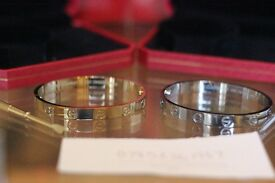 Cartier Silver Love bracelet
