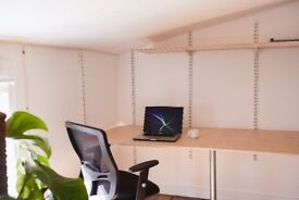Lovely Studio Desk Space in an Old Converted Victorian Bakery. Close to Leyton Tube.