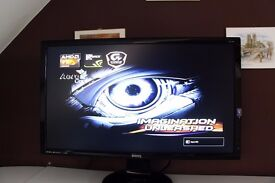 Custom Build Gaming PC with 27 inch BenQ LED Monitor and extras