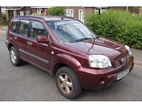 2004 Nissan X-Trail 2.0 SE Petrol 4X4 *** NOISY CAMSHAFT *** for spares or parts NON DRIVER
