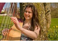 Celtic Harpist Available for Weddings