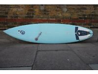 Resin 8 Sam Egan Epoxy Surfboard 6'6, 19, 2 1/2 Great Condition