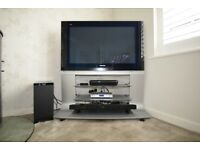 Panasonic VIERA HD ready 39in Plasma TV, Freeview, built-in stand.