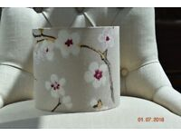 brand new pair of handmade harlequin lampshades
