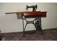 Antique Singer Treadle Sewing Machine Born Clydebank 1910