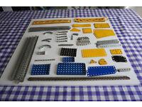 Meccano Job lot Strips, Angle Strips and Plates