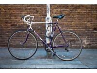 Vintage Racing Bike / Road Bicycle (Raleigh Scorpio), 12 speed
