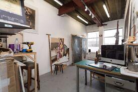 Artist studio in Archway