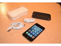 iPod Touch 4 - EXCELLENT CONDITION, + box, earphones, USB cable, case