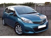 2012 Toyota Yaris 1.4 D4D-V LOW MILEAGE-Diesel 5 Dr Hatch-6 Speed Manual-£20 Roadtax-Very Economical