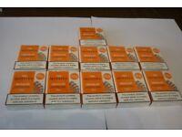 11 PACKS OF TEN MOTIVES REGULAR 16 mg/ml - 55 WRAPPED NICOTINE CARTRIDGES