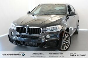 2016 BMW X6 * Support lombaire / Harman/Kardon / Nav / Cam *