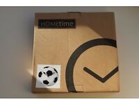 Brand new football clock - great kids Christmas present idea