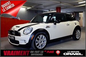 2009 MINI COOPER S TURBO MAGS CUIR TOIT AILERON