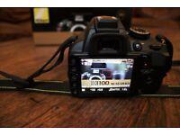 Nikon D3100 18-55 VR kit - 240£ o.n.o. RRP 325£