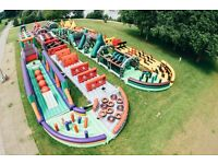 6 Tickets - DEAL The Beast @ Betteshanger Ultimate Bouncy Castle for this Sunday 28th 12:15 - 12.45