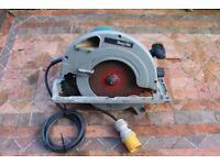 "MAKITA 5903P 9"" 110v heavy duty circular saw"
