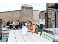 office desk space in refurbished landmark building for rent in SOHO-SHERATON HOUSE LONDON