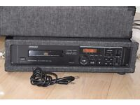 1700 SOUND LAB DJ CD PLAYER/CARRY CASE CAN BE SEEN WORKING